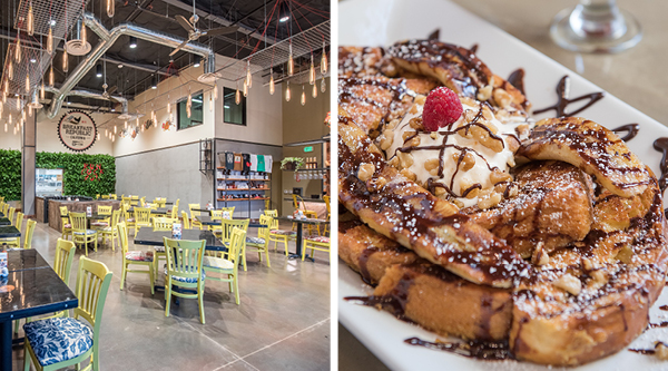 A Quirky Breakfast Spot With Five Other Locations In North Park Liberty Station Encinitas East Village And Ocean Beach Famous For Serving Inventive